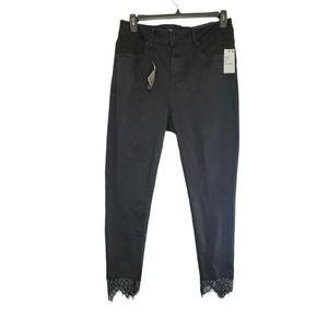 Seven7 Ultra High Rise Skinny Jeans 14W